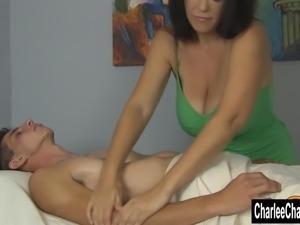 Charlie's Big Tit  Happy Ending Massage