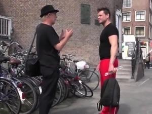 Dutch whore cum sprayed