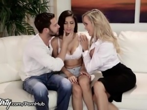 Brandi Love Corrupts Innocent Teen with Husband