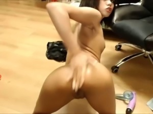 Small asian does ANAL