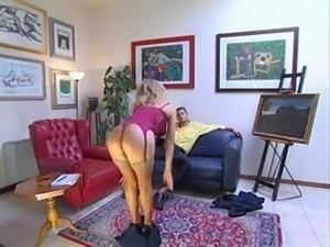 Beautiful blonde anal PacPac