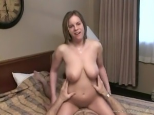 Busty Danielle blows and gets fucked every which way