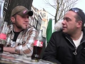 Cocksucking dutch hooker spoils tourist