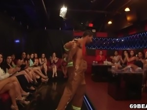 Male Stripper Party With Blowjobs