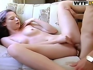 The best morning starts with dirty sex and our couple demonstrates it. They...