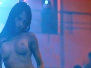 Gorgeous Mexican Babe Elizabeth Cervantes Exposes Her Big Round Boobs