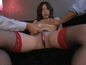 Horny Asian MILF Ayami Needs To Get Drunk Before a Threesome