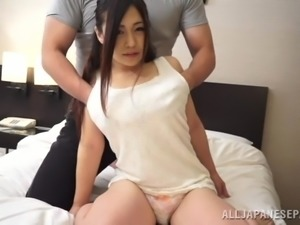 Charming Japanese Wife Goes Hardcore With Her Husband
