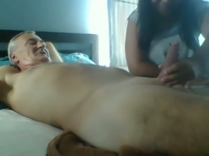 Kinky Asian girl loves older guy so she blows me with pleasure