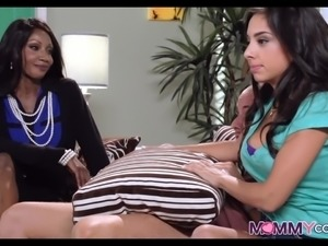 Black Stepmom Intrudes on Teens