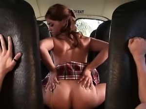 Gigi as a slut anyone decides to tap her ass