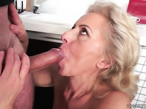 Blonde wants this hardcore fuck session to last forever