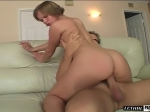 Alluring nice ass blonde juicy pussy lovely fingered