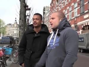 Dutch hooker sucks bbc