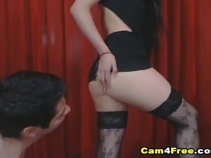 Brunette Lovers Fucks The Night Out