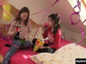 Kinky Suzi and naughty Anita are ready to get full lesbian