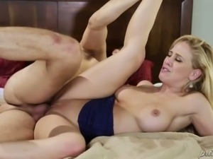 Horny Danny bangs mature pussy of his sexy busty bitch Cherie DeVille in...