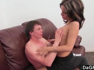 Dagfs  French slut meets English boy Online