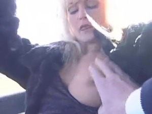 Blonde Milf Gets Her Tight Pussy Drilled Deep