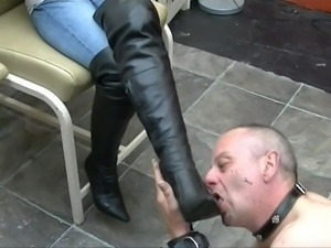Blonde Goddess Ruthlessly Humiliates Male