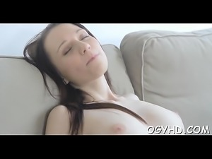 Teen babe experiences old dick