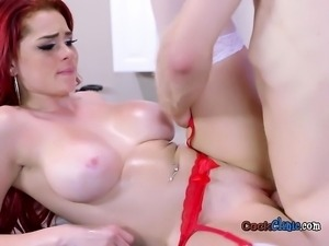 Hot Doctor Skyla Novea Gets Fucked And Cum Sprayed