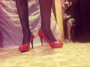 Miss Wagon Shoeplay 2017- Red Stiletto for pipparoli