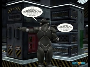 3D Comic: Spermaliens. Episodes 4-5