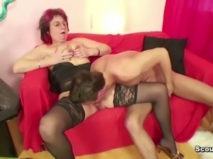 43yr old german mother seduce 18yr old not step-son