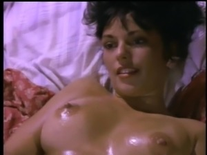 Brunette hairy pussy ravished hardcore in retro porn