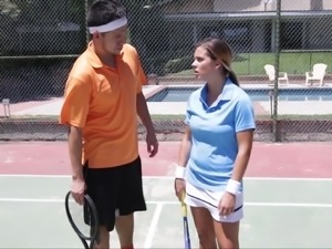 Tennis seduction