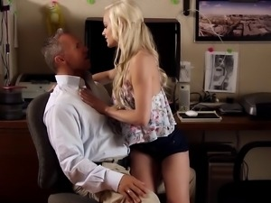 Finest blonde gets her slippery hole drilled by the pool