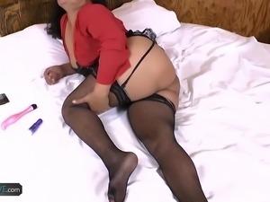 AgedLovE Hot Mature Latina Sharon Hardcore Fuck