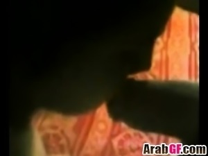Amateur homemade video of horny Arab couple