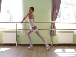 Inessa is not only a ballerina but also a very good solo model!