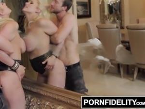 PORNFIDELITY - Alanah Rae's Huge Boobs Get Her 2 Cumshots