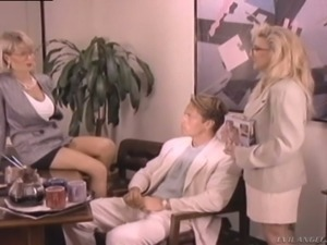 Hot office slut Brittany O'Connell is clearly determined to fuck Rocco Siffredi