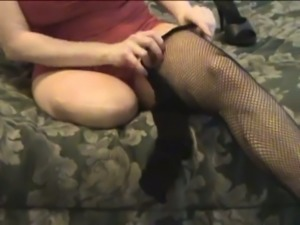 Lusty amateur webcam amputee was posing in her sexy lacy lingerie