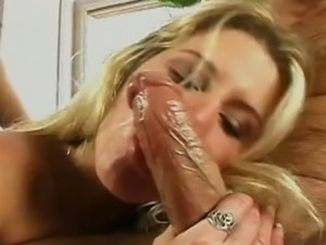 Kinky blackhead Claudia Adkins share big hard dick with her sexy blond kooky