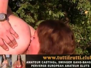 Euro amateur outdoor porn casting
