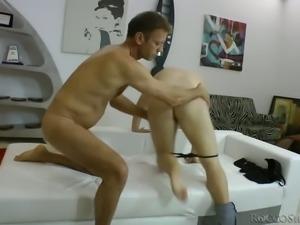 Pleasure seeking whore Rita G takes on Rocco Siffredi's big cock