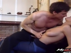Michelle Wild looks better when she is getting fucked in the ass