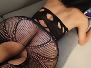 Bootyful hottie Lana Davalos doggyfuck brutally