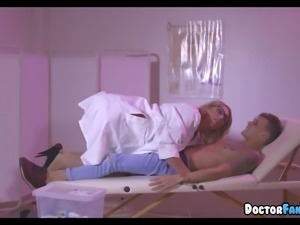 Big Tit Blonde MILF Doctor Fantasy