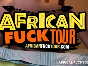 Cocos African pussy banged in homemade