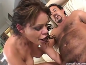 Big assed brunette slut Gia Paloma likes when horny stud bangs her pussy in...