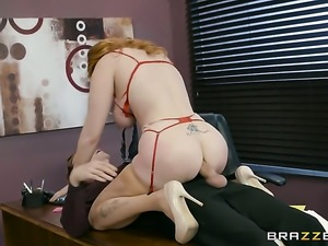 Danny D is horny as hell and cant wait any longer to fuck devilishly sexy...