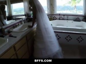 BFFS- Hot Bridesmaid Sex Before Wedding