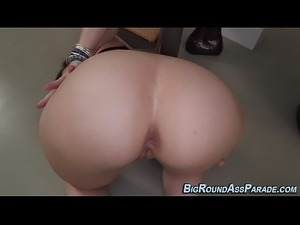 Huge assed milf riding