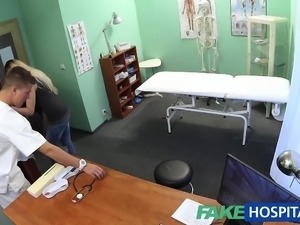 Fake Hospital Doctor finds sexual surprise in patient pussy